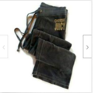 Juicy Couture grey soft comfort yoga sleep pants S